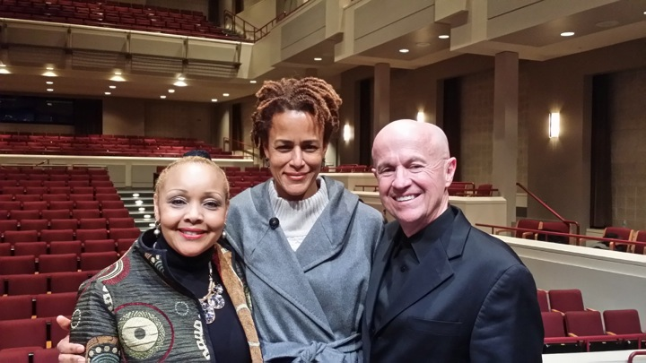 Pictured: Lisa Edward Burrs, Soprano; Marilyn Windham; Mark Whitmire